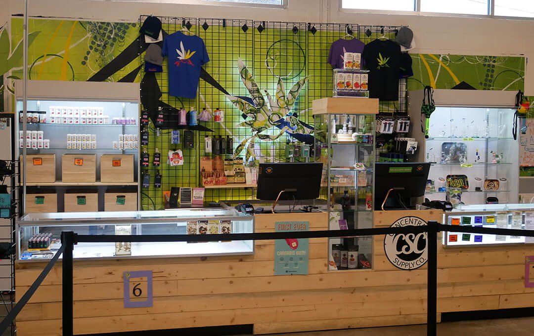 AOC Dillon Branch Product Display