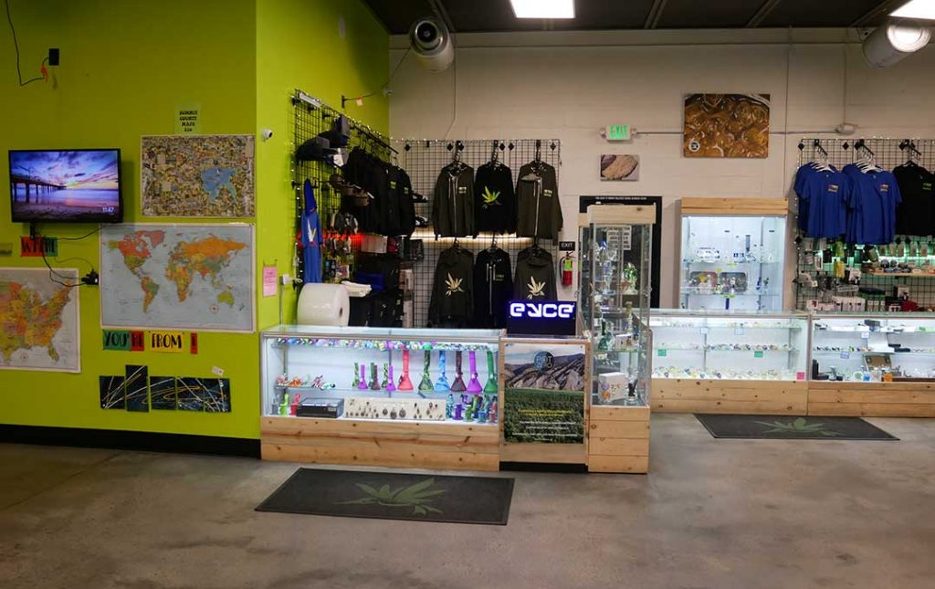AOC Shop Interior Premium Medical Marijuana in Dillon, CO - Altitude Organic Cannabis